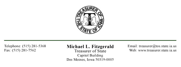 State Of Ia Unclaimed Property